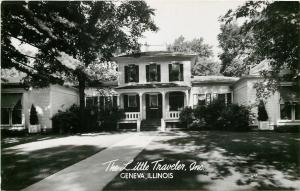 Geneva Illinois~Little Traveler Inc~Tea & Shopping~1950s Real Photo~RPPC