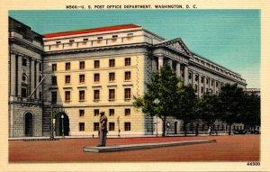 Washington D C The Post Office Department
