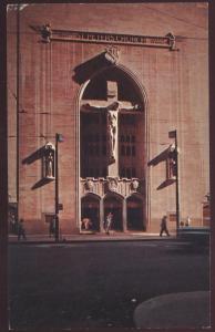 CHICAGO ILLINOIS IL Saint Peter Church Cross Jesus Postcard
