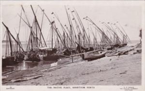 Sudan Khartoum North The Native Fishing Fleet 1930 Photo