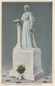 WASHINGTON D. C., 1910-20s; Frances E. Willard, Statuary Hall, U.S. Capitol