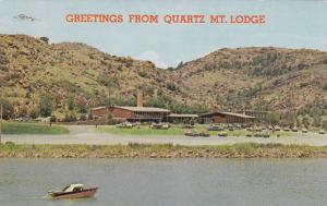 Oklahoma Greetings From Quartz Mountain Lodge On Lake Altus
