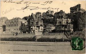CPA VILLERS-sur-MER - Villas de la Plage (516547)