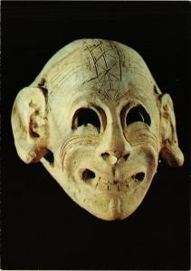 CPM TUNISIE Musée du BARDO - Masque Punique (258408)