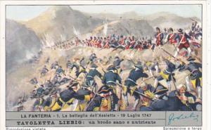 Liebig S1688 Infantry No 1 La battaglia dell'Assietta 19 Luglio 1747