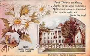 Daisy, State Capitol Raleigh, NC, USA Postcard Post Card Raleigh, NC, USA Dai...