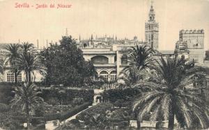 Spain Sevilla Jardin del Alcazar 02.13