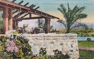 California Santa Barbara Potter Country Club Home Range