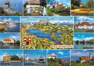Der Bodensee, Langenargen Friedrichshafen Meersburg Birnau Insel Mainau Konstanz