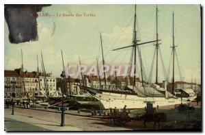 Old Postcard Le Havre Le Bassin des Yachts