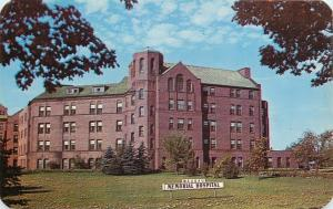 Wausau Wisconsin~Wausau Memorial Hospital~1940s Sepia Real Photo Postcard