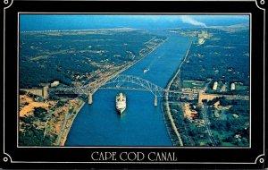 Massachusetts Cape Cod Canal & The Sagamore Bridge
