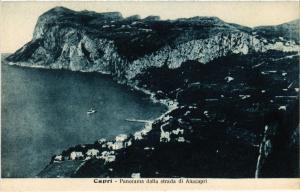 CPA Capri Panorama dalla strada di Anacapri. ITALY (526854)