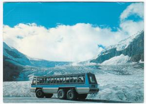 Canada; Specialised Bus, 'Foremost' Snowcoach on Columbia Icefields PPC, 1980's