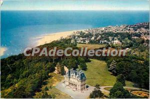 Modern Postcard Houlgate Dives sur Mer (Calvados) Chateau Foucher Careil