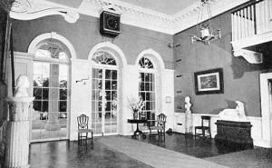 VA - Charlottesville. Monticello, Entrance Hall