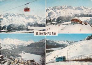 Switzerland St Moritz Piz Nair Multi View 1972