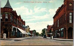 Mulholland Street Looking East Nauvoo Illinois Postcard