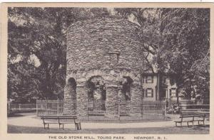 The Old Stone Mill, Touro Park, Newport, Rhode Island, PU-1920
