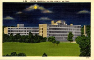 Virginia Bristol Memorial Hospital At Night