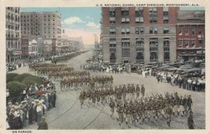 MONTGOMERY , Alabama , PU-1918 ; National Guard Parade