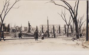 RP, CHELSA , Massachusetts, Fire of April 12, 1908 ; Burnt Bldgs #7