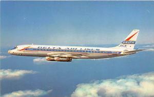 Delta Airlines DC-8 Jetliners