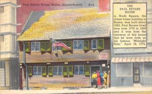 Massachusetts  Boston , Paul Revere House
