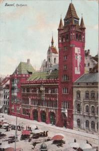 Switzerland Basel Das Rathaus 1906