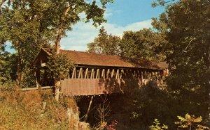 NH - Meriden. Bloods Brook Covered Bridge