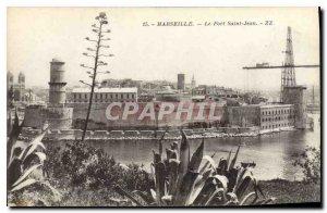 Old Postcard Marseille Fort Saint John