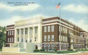 Memorial Building & City Hall - Chanute, Kansas KS