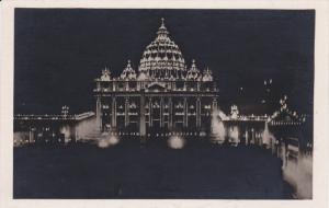 RP: CITTA DEL VATICANO - La Luminaria della Basilica di San Pietro , 00-10s