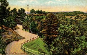Tennessee Chattanooga Government Boulevard On Missionary Ridge 1910