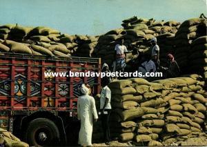 saudi arabia, DJEDDAH JEDDAH, Corn Trade Harbour (1960s)