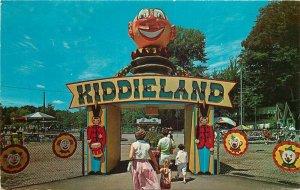 Amusement Children's Entrance Kiddie Land Conneaut Lake Park Postcard 7533