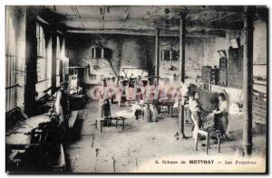 Postcard Old Colony Mettray Blacksmiths