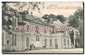 Old Postcard Argenteuil Chateau Du Marais Old Country House Mirabeau