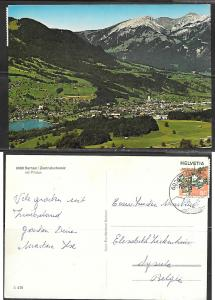 Switzerland, Sarnen, Mt. Pilatus, mailed