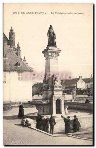 Postcard Old St. Anne D Auray The miraculous fountain