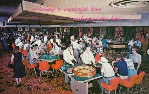 LAS VEGAS, Nevada, 1940-1960´s; Gambling Casino Interior