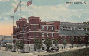 SCRANTON, Pennslyvania, PU-1915; Armory