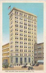 First National Bank Building, Danville, Illinois, 1910-1920s
