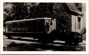 Real Photo Postcard Notre-Dame-du-Cap Truck Trois-Rivières Quebec Canada~134656