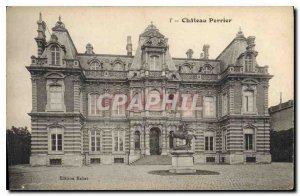 Old Postcard Chateau Perrier