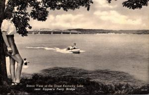 Kentucky Scenic View Of The Great Kentucky Lake Near Eggner's Ferry Brid...