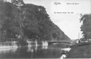 Hythe Canal and Grove The Wrench Series Postcard