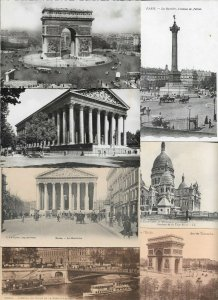 France Paris Postcard Lot of 30 01.09
