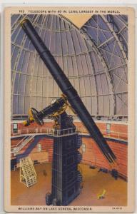 Telescope, William Bay, Lake Geneva WI