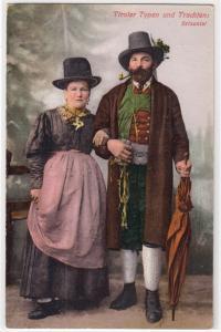 Tiroler Typen und Trachten: Brixental
